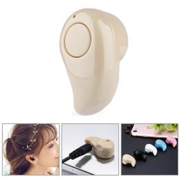 $enCountryForm.capitalKeyWord NZ - S530 Mini Wireless Bluetooth 4.0 Earphone Stereo Light Stealth Headphones Headset Earbud With Micro phone Universal with crystal box
