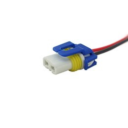 Discount socket bulbs - LEEWA 10pcs Car 9005 female ceramic bulb socket case for Halogen headlamp pigtail connector holder #5459