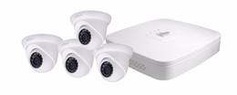 Dahua 3mp UK - 3MP 1080P HD 1 3'' CMOS Sensor DAHUA IP Camera DH-IPC-HDW1320S camera kit ONVIF H.264 CCTV Camera NVR4104-P kit