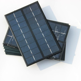 polycrystalline module Canada - Wholesale! 3W 9V Polycrystalline Solar Cell Module DIY Solar Panel For Battery DIY Charger 125*195mm 20pcs lot Free Shipping