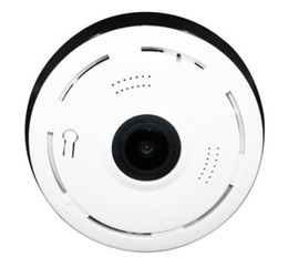 China Factory Cctv Home Security 360 Degree Vr Panoramic Sd Card Two Way Audio Wireless Small Mini Camera Wifi V380 Fisheye Ip Camera