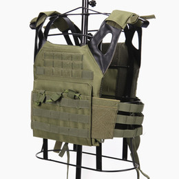 China High Quality Cheap 600D Nylon JPC Lightweight Combat Molle Tactical Vest,Ballistic Plate Carrier,Hunting Protective Vest cheap tactical vest green suppliers