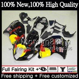 $enCountryForm.capitalKeyWord NZ - Body Black red For SUZUKI Hayabusa GSXR 1300 02 03 04 05 06 07 56PG76 GSX R1300 GSXR-1300 GSXR1300 96 97 98 99 00 01 Fairing Bodywork