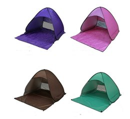 $enCountryForm.capitalKeyWord Australia - Outdoor 2 person tents quick open automatic beach tent shelter garden lawn sun shading double tents superlight picnic fishing Tents Shelters