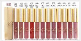 $enCountryForm.capitalKeyWord Canada - New Arrival Hot Brand M@C High quality Makeup Matte Lipsticks Lip Gloss liquid lipstick 12 color matte lipgloss DHL Free shipping