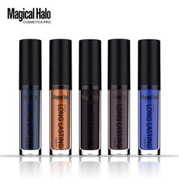 Dark Blue Lipstick Wholesale Canada - Magical Halo Moisturizer Matte Lip Gloss Lipstick Long Lasting Lip Gloss Waterproof Lipgoss Various Tint Makeup 38 colors 0314