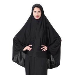 En gros foulards, musulman Arabe dames long hijab, hijabs noir, livraison gratuite en Solde
