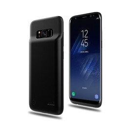 samsung external chargers 2019 - 4000mah Power Bank Phone Charger Battery Case Slim External Battery Cover for Samsung S8 S8 Plus with Retail Package che