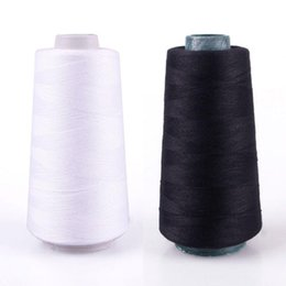 yard machines Canada - Durable 3000M Yards Overlocking Sewing Machine Industrial Polyester Thread Metre Cones