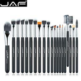 Taklon hair online shopping - Jaf Brand Set Makeup Brush Professional Foundation Eye Shadow Blending Cosmetics Make Up Tool Vegan Synthetic Taklon