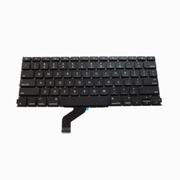 Macbook Retina 13 Inches UK - US Keyboard for Macbook pro 13 inch Retina A1425 MD212 MD213 2012 2013 Year Free shipping