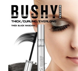 $enCountryForm.capitalKeyWord Canada - Qibest Brand Mascara Black Waterproof Makeup Mascara Brands Cosmetics Eye Lashes Curling Thick Eye Make Up Silver