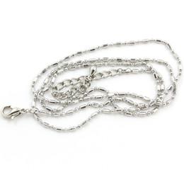 50cm Серебряные цепи сплава 10pcs, плавая цепь цепи ожерелья цепи мешка LSCH01-1 * 10