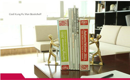 cool office decorations. 2Pcs Pair Heavy Duty Metal Cool Kung Fu Man Bookshelf Bookend for Home  Office Bookstone Library Desk Decoration Sliver Golden Discount Decorations 2018 on