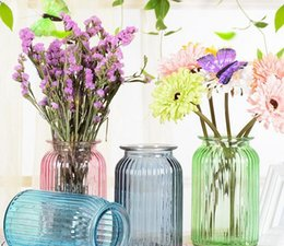 glass flower vase flower pots glass vases home decoration for wedding office party christmas festival decor hot sale - Christmas Vase Decorations
