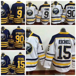 dceff9a91 ... 2016 Mens Buffalo Sabres Hockey Jerseys 15 Jack Eichel Navy Blue Home  Jersey Wholesale Authentic Stitched ...