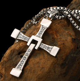 $enCountryForm.capitalKeyWord NZ - 2017 Most Fire Jewelry S925 Standard Silver The Fate of Furious Cross Pendant Necklace Man Best Gift Fast and The Furious