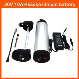 $enCountryForm.capitalKeyWord NZ - Hot sale 500W 36 V Electric Bicycle Battery 36V 10AH water bottle Lithium Battery with 15A BMS 42V 2A charger
