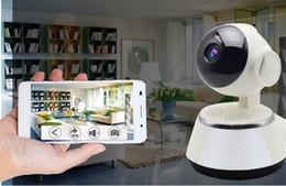 Cctv Wifi Ip Australia - 720P IP Camera WiFi Smart Home Wireless Surveillance Camera Security Camera Micro SD Network Rotatable CCTV IOS PC