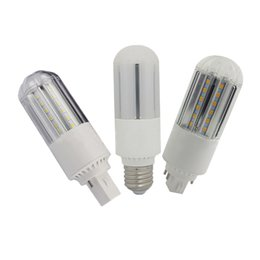 Chinese  SMD2835 PL led Lamp G24 B22 G23 E27 led Corn Light bulb 9W 12W 15W 18W G24q CFL Lamps replacement 360 led bulbs manufacturers