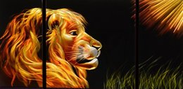 $enCountryForm.capitalKeyWord NZ - Strong Lion Free Shipping Aluminum Polished Modern Abstract Metal Wall Art Painting Sculpure For Wall Decoration