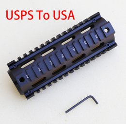 T mounT online shopping - Tactical T Serie Free Float Inch slanted holes Handguard Quad Rail Scope Mount Gun Accessories