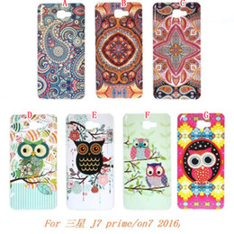 samsung j2 j3 j7 2019 - Cartoon Owl Soft TPU Case For Samsung J7 Prime On7 2016   J5 Prime ON5 2016   J2 Prime J3 Fashion Flower Branch Cell Pho
