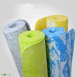 $enCountryForm.capitalKeyWord Canada - Wholesale- Sport Mat 6mm Non-Slip TPE Exercise Gym Fitness Yoga Mat Lose Weight Eco-friendly Body Building Yoga Blanket 183*62*0.6 cm