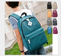 $enCountryForm.capitalKeyWord Canada - 2017 New Casual Backpack Boy and Girl Nylon Pure School Bag Waterproof and breathable travel sport bag 8colors size 29*43*14cm