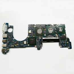 $enCountryForm.capitalKeyWord UK - For Macbook A1226 Motherboard Laptop Logic Board CPU T7500 2.2GHZ 661-4956 820-2101-A 2008 Year Original Tested Perfect Working