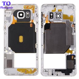 Discount metal siding for houses - OEM Metal Middle Bezel Frame Cover For Samsung Galaxy S6 G920F Single Card Version Housing +Camera Glass+Side Button