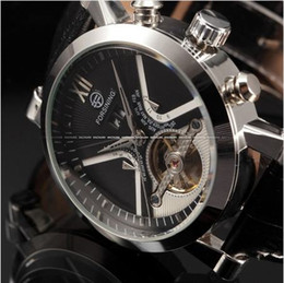 Discount fun watches - Classic Automatic Watch Men Calendar Male Clock Black Leather Strap Outdoor Fun Sport Analog Men S3 Dial Display Genuine