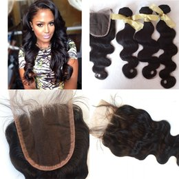 Hair tissage online shopping - Vietnamese Virgin Hair body wave With Closure Bundle Vietnamese Hair Weave Bundles With Closure Tissage Bresilienne Avec Closure G EASY