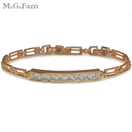 Discount led watch prices (218B) 18k Gold Plated Bright Gems Watch Bracelet Women for Factory Price Lead and Nickel Free