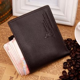 Bifold wallet vertical canada best selling bifold wallet vertical men leather short wallet bifold money clip credit card holder business black coffee vertical horizontal wallets a347 reheart Image collections