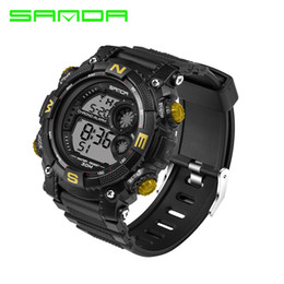 $enCountryForm.capitalKeyWord Australia - 2017 New Fashion Sanda Brand King Style Digital Sport Watch Waterproof Anti-Shock Luxury Led Digital Military Chrono Relogio Masculino