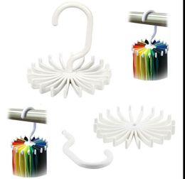 Rotating Tie Rack Organizer Hanger Closet Organizer Colgando Almacenamiento  Bufanda Rack Tie Rack Holds 20 Corbatas 96a5646d78c9