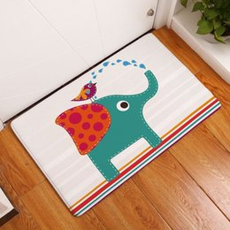 Marvelous Cartoon Kids Room Carpet Printed Elephant Dachshund Bath Doormat Kawaii Childrenu0027s  Rug