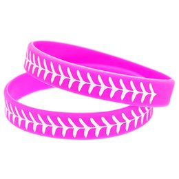 pink tires Canada - 100PCS Debossed Classic Decoration Logo Tire Design Silicone Rubber Wristband Adult Size Pink for Promotional Gift