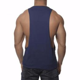 Low cut vest men online shopping - New Men s Vivid Tank Tops Low Cut Armholes Vest Sexy Tank Xman Muscle Man s Suit Vest Singlet Shirt W1