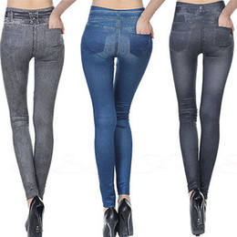 Womens Denim Leggings Online | Womens Stretch Denim Leggings for Sale