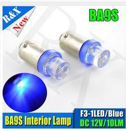 Acura Autos Australia - 12V 1 SMD LED BA9S Bayonet T4W 233 Auto Tail Side Indicator Parking Lamp Reverse Brake Lights Bulbs Lamp
