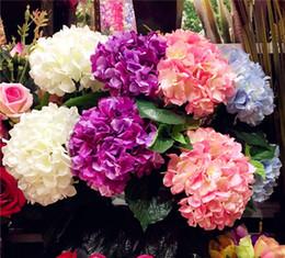 Discount wedding silk flower arrangements wholesale silk wedding wedding silk flower arrangements 2018 artificial hydrangea flower 80cm long silk single stem hydrangeas for mightylinksfo