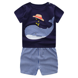 $enCountryForm.capitalKeyWord UK - 2017 Children's clothing set cartoon T-shirt + shorts 2pcs set baby boy's suit set Kids short sleeve