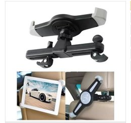 Back Seat Tablet NZ - New hot selling New Car Back Seat Headrest Mount Holder For 7-10inch ipad holder for Samsung iPad air mini Tablet with retail box
