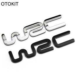 China Alloy WRC 3D Metal Auto Car Badge Emblem Sticker for Toyota Yaris Ford Fiat Citroen Audi SUZUKI Volkswagen VW Golf Cruze suppliers