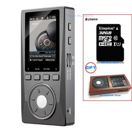 Freeshipping NEW X10 (+ 32GB + Leather Case ) Portable High Resolution Lossless DSD Music Player DAP Support Optical Output MP3 Player on Sale