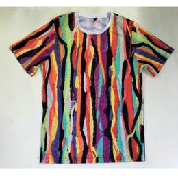 Sublimation T Shirt Printing Canada - Real USA Size cool print 3D Sublimation print T-Shirt Plus size