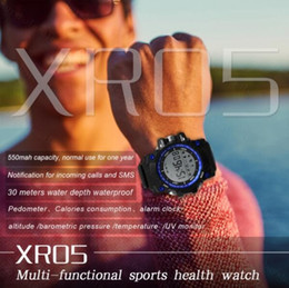 Smart Watches For Android Price Australia - XR05 Sports Health Smart Watch Temperature UV Monitoring Bluetooth Wristwatch for Android IOS iphone samsung s7 s8 DZ09 GT08 A1 best price