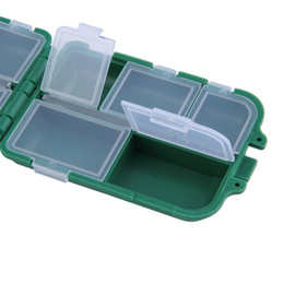 Fishing Lure Store Canada - HS-003 Fishing Tackle Boxes Fishing Accessories Case Fish Lure Bait Hooks Tackle Tool for Storing Swivels, Hooks, Lures